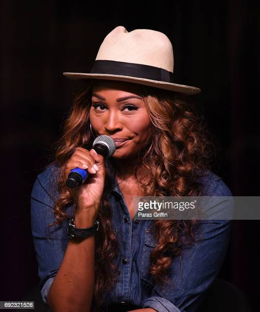 Television personality Cynthia Bailey speaks onstage at 2017 Atlanta Ultimate Women's Expo at Georgia World Congress Center on June 4 2017 in Atlanta...