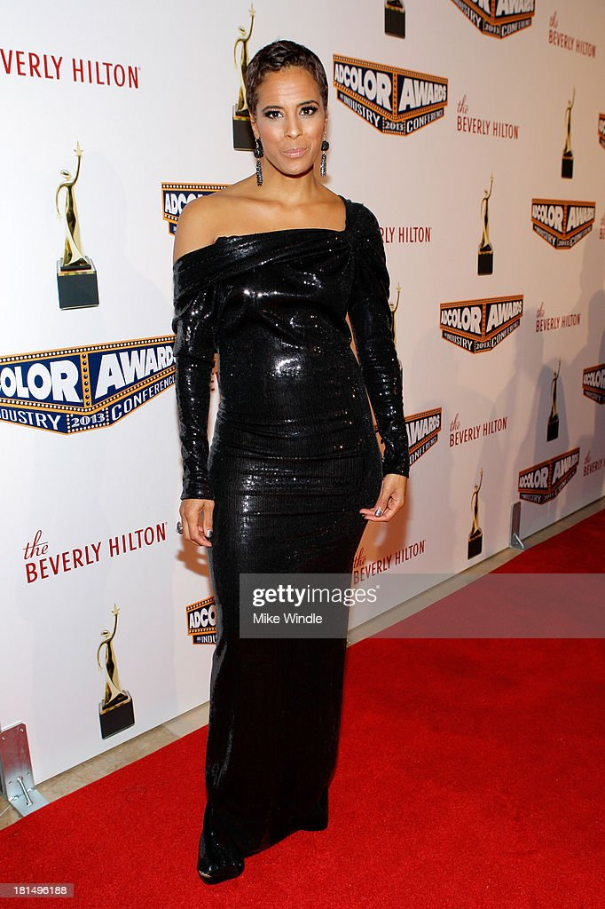 Television Personality <a gi-track='captionPersonalityLinkClicked' href=/galleries/search?phrase=Daphne+Wayans&family=editorial&specificpeople=4878193 ng-click='$event.stopPropagation()'>Daphne Wayans</a> attends the ADCOLOR Awards at The Beverly Hilton Hotel on September 21, 2013 in Beverly Hills, California.
