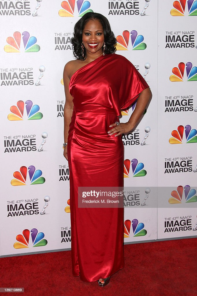 Television personality DeShawn Snow arrives at the 43rd NAACP Image Awards held at The Shrine Auditorium on February 17, 2012 in Los Angeles, California.