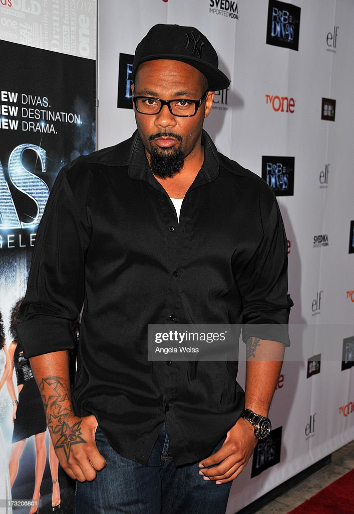 Television personality Dontay Savoy attends the 'R&B Divas LA' premiere event at The London on July 9, 2013 in West Hollywood, California.
