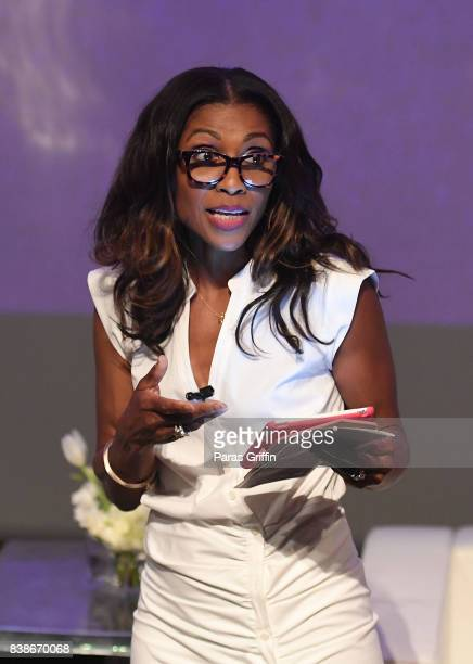 Television personality Dr Jacqueline Walters at 'The Immortal Life Of Henrietta Lacks' Viewing Panel Discussion with Renee Elise Goldsberry Dr...
