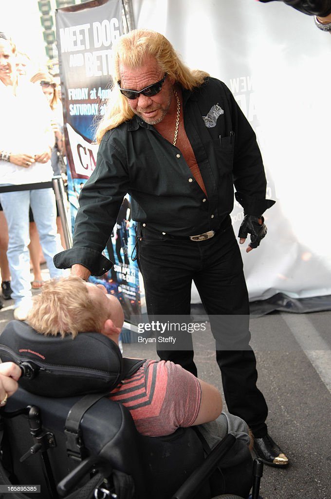 Television personality Duane 'Dog' Chapman appears during the 48th Annual Academy Of Country Music Awards Experience at the Orleans Arena on April 6, 2013 in Las Vegas, Nevada.