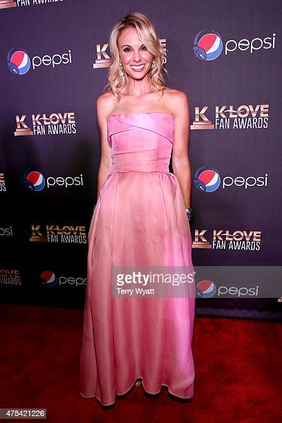 Television personality Elisabeth Hasselbeck attends the 3rd Annual KLOVE Fan Awards at the Grand Ole Opry House on May 31 2015 in Nashville Tennessee