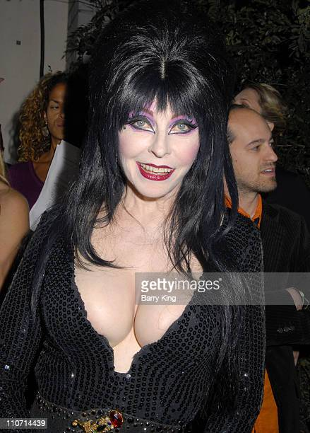 Television personality Elvira attends the Fox Reality Channel Really Awards held at Boulevard3 on October 2 2007 in Hollywood California
