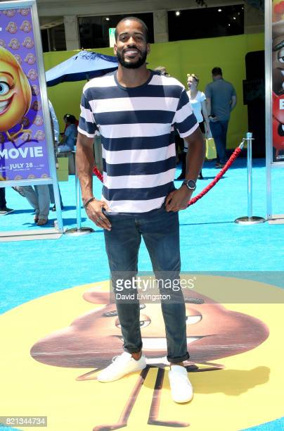 Television personality Eric Bigger attends the premiere of Columbia Pictures and Sony Pictures Animation's 'The Emoji Movie' at Regency Village...