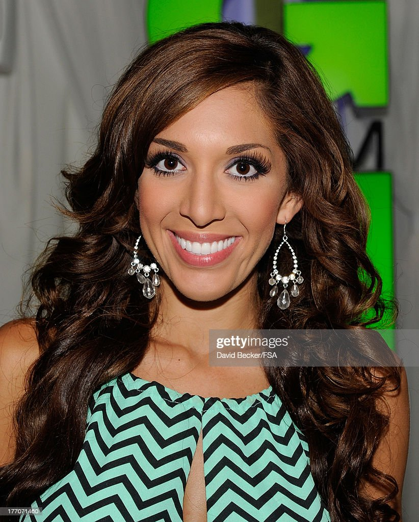 Television personality <a gi-track='captionPersonalityLinkClicked' href=/galleries/search?phrase=Farrah+Abraham&family=editorial&specificpeople=6927722 ng-click='$event.stopPropagation()'>Farrah Abraham</a> appears at the FOX 5 Las Vegas studio on August 20, 2013 in Las Vegas, Nevada.