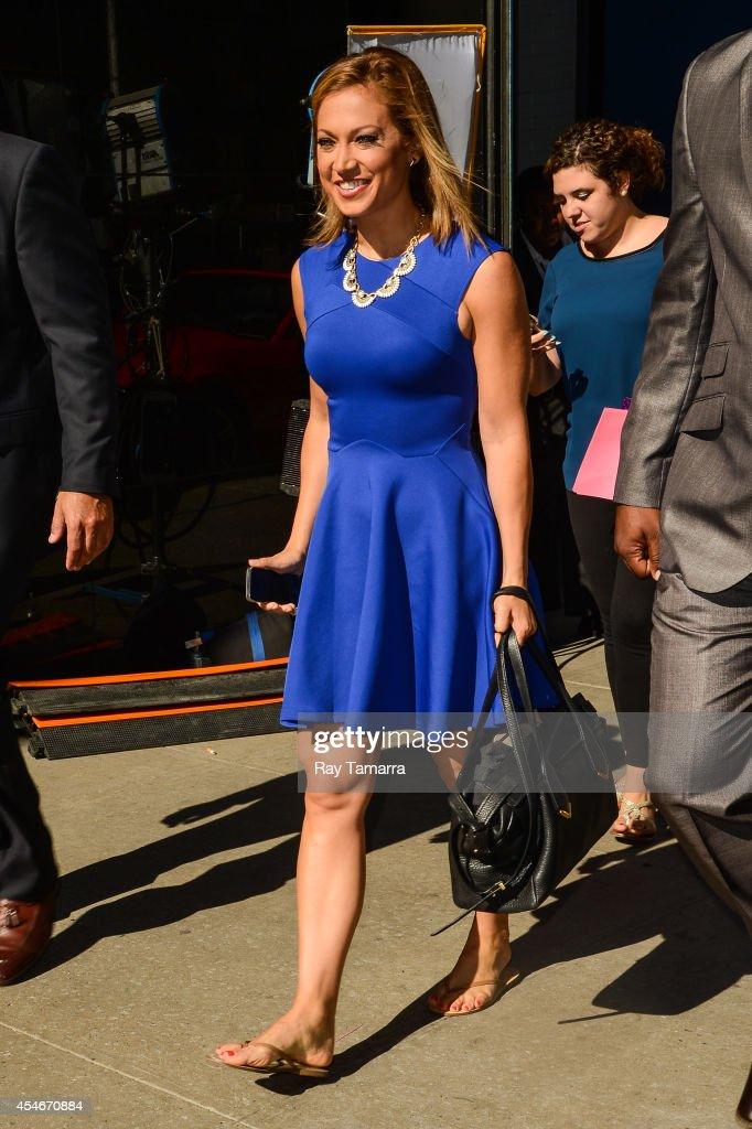 Good Morning America Ginger : Celebrity sightings in new york city september