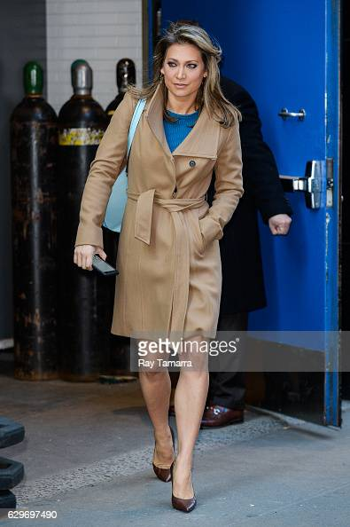 Good Morning America Ginger : Ginger zee stock photos and pictures getty images