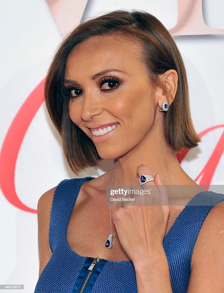 Television personality <a gi-track='captionPersonalityLinkClicked' href=/galleries/search?phrase=Giuliana+Rancic&family=editorial&specificpeople=556124 ng-click='$event.stopPropagation()'>Giuliana Rancic</a> arrives at the 2015 Le Vian Red Carpet Revue at the Mandalay Bay Convention Center on June 1, 2014 in Las Vegas, Nevada.