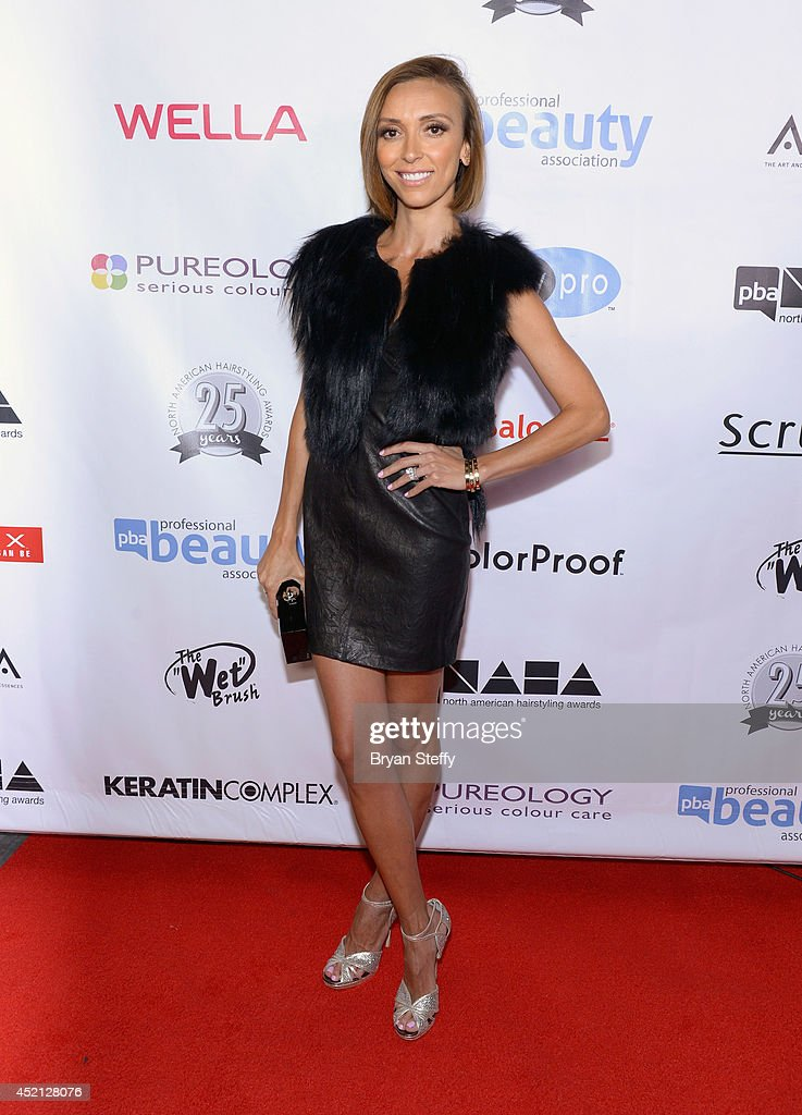 Television personality Giuliana Rancic arrives at The North American Hairstyling Awards 25th anniversary celebration at the Mandalay Bay Convention...