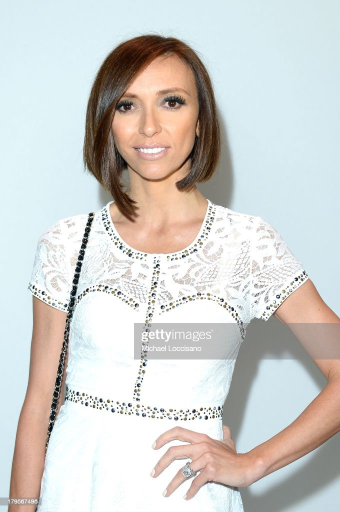 Television personality Giuliana Rancic attends the BCBGMAXAZRIA Spring 2014 fashion show during Mercedes-Benz Fashion Week at The Theatre at Lincoln Center on September 5, 2013 in New York City.