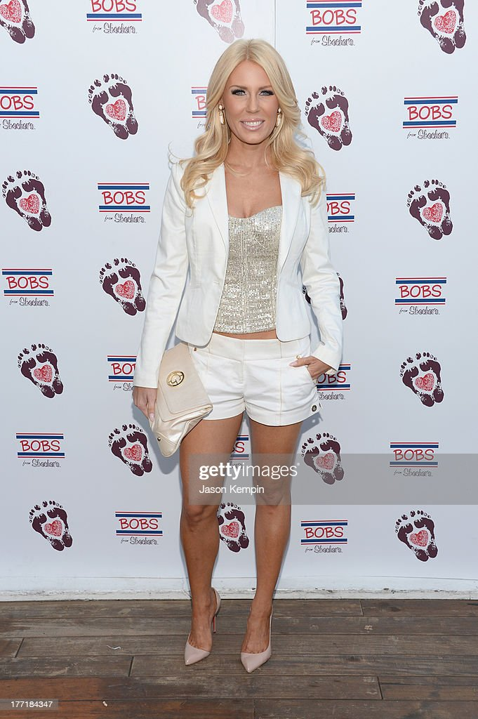 Television personality <a gi-track='captionPersonalityLinkClicked' href=/galleries/search?phrase=Gretchen+Rossi&family=editorial&specificpeople=5637804 ng-click='$event.stopPropagation()'>Gretchen Rossi</a> attends the Bobs From Skechers Summer Soiree at SkyBar at the Mondrian Los Angeles on August 21, 2013 in West Hollywood, California.