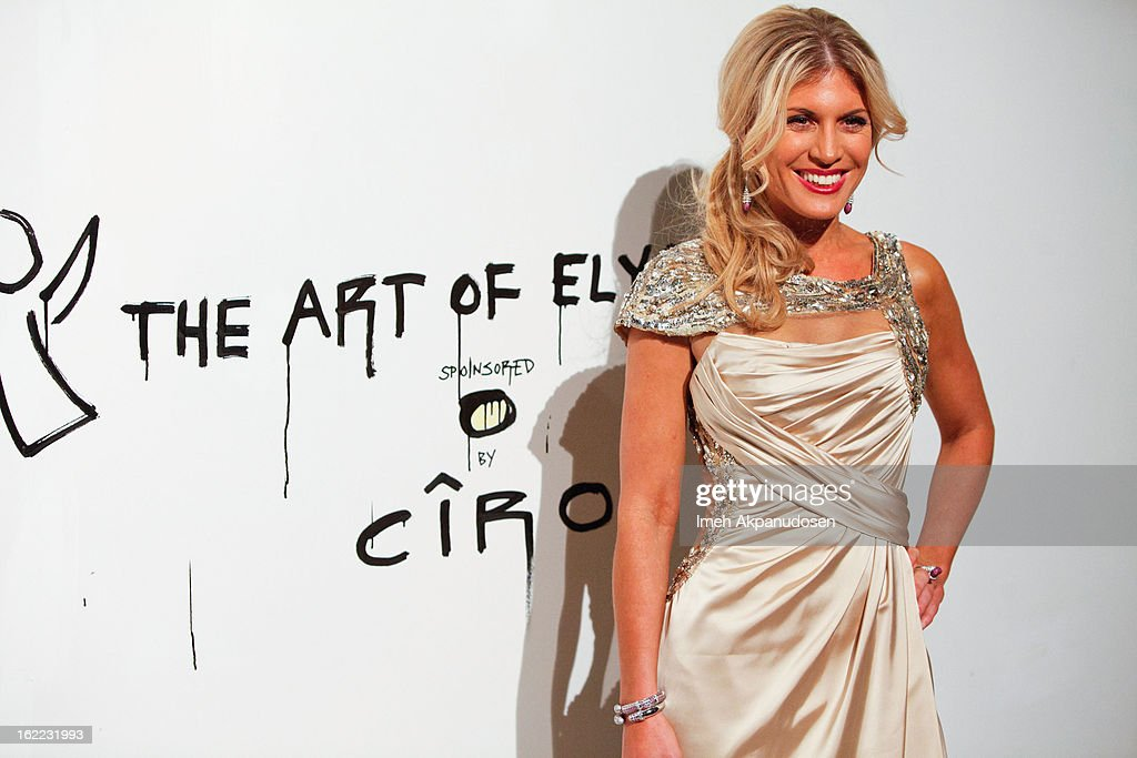 Television personality Hofit Golan attends The Art Of Elysium's 6th Annual Pieces Of Heaven Powered By Ciroc Ultra Premium Vodka at Ace Museum on February 20, 2013 in Los Angeles, California.