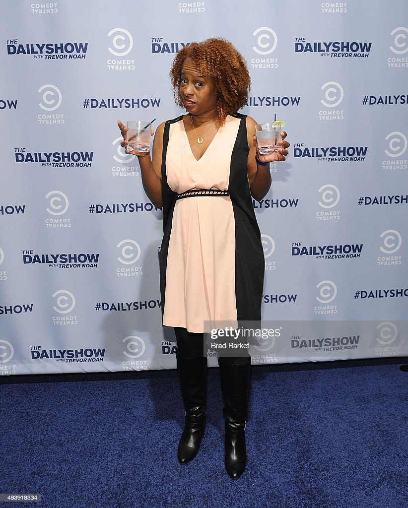 Television personality Holly Walker attends Comedy Central's The Daily Show With Trevor Noah Premiere Party Event on October 22, 2015 in New York City.