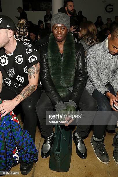 Television personality J Alexander attends the KTZ runway show during MADE Fashion Week Fall 2015 at Milk Studios on February 17 2015 in New York City