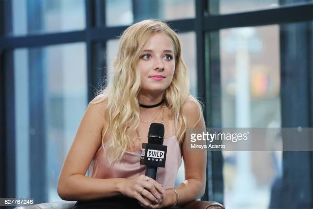 Television personality Jackie Evancho visit Build to discuss the show 'Growing Up Evancho' at Build Studio on August 8 2017 in New York City