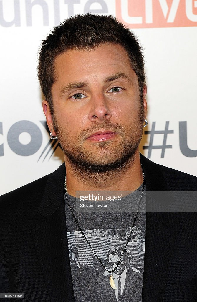 Television personality James Roday arrives at 'UniteLIVE: The Concert to Rock Out Bullying' at the Thomas & Mack Center on October 3, 2013 in Las Vegas, Nevada.