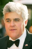 Television personality Jay Leno arrives at the Vanity Fair Oscar Party at Mortons on March 5 2006 in West Hollywood California