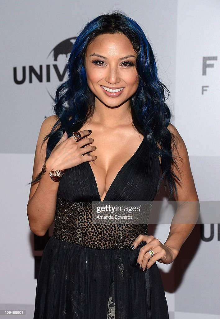 Television personality Jeannie Mai arrives at the NBC Universal's 70th Golden Globes After Party at The Beverly Hilton Hotel on January 13, 2013 in Beverly Hills, California.