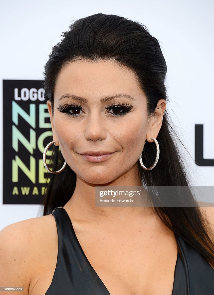 Television personality Jenni 'JWoww' Farley arrives at the Logo NewNowNext Awards 2013 at The Fonda Theatre on April 13, 2013 in Los Angeles, California.