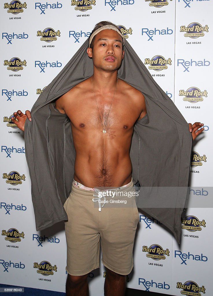 Television personality Jesse Montoya from 'Vanderpump Rules' arrives at the Hard Rock Hotel & Casino's Rehab pool party on May 30, 2016 in Las Vegas, Nevada.