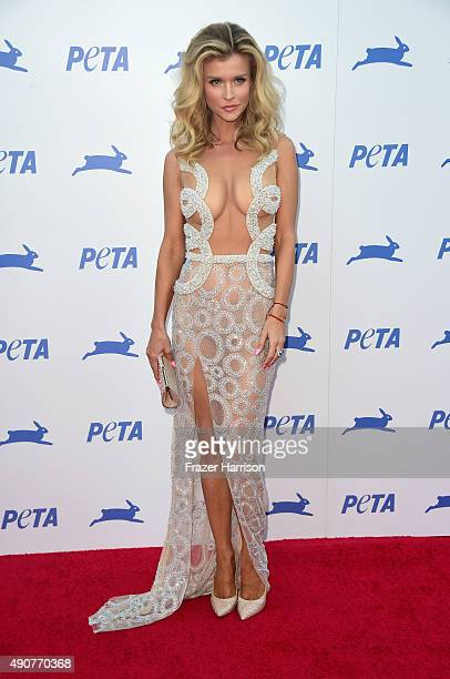 Television personality Joanna Krupa arrives at PETA's 35th Anniversary Party at Hollywood Palladium on September 30 2015 in Los Angeles California