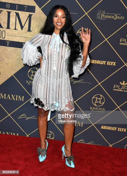 Television personality Joseline Hernandez arrives at the The 2017 MAXIM Hot 100 Party at Hollywood Palladium on June 24 2017 in Los Angeles California