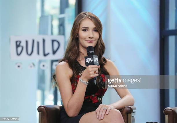 Television personality Juliet Evancho visits Build to discuss the show 'Growing Up Evancho' at Build Studio on August 8 2017 in New York City