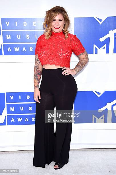 Television personality Kailyn Lowry attends the 2016 MTV Video Music Awards at Madison Square Garden on August 28 2016 in New York City