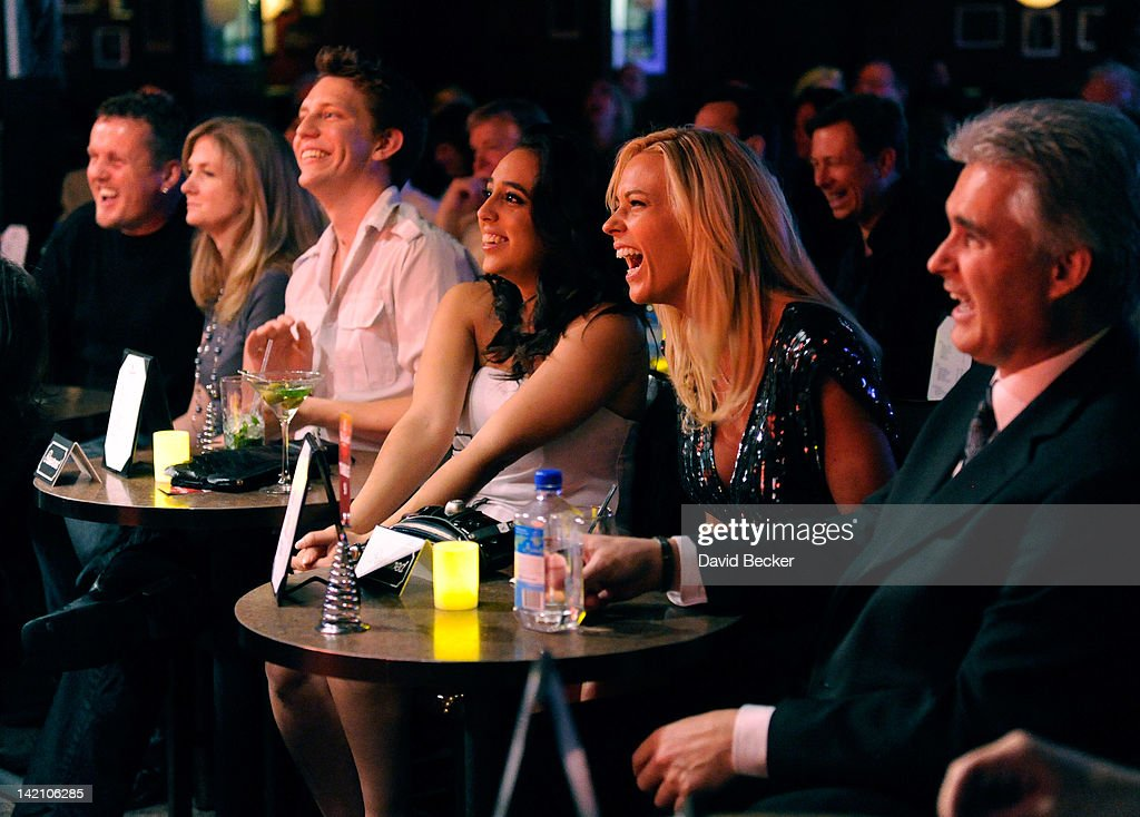 Television personality Kate Gosselin attends the grand opening of Brad Garrett's Comedy Club at the MGM Grand Hotel/Casino on March 29 2012 in Las...