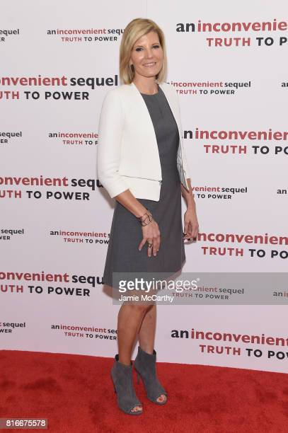 Television personality Kate Snow attends the 'An Inconvenient Sequel Truth To Power' New York Screening' at the Whitby Hotel on July 17 2017 in New...