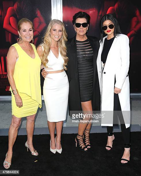 Television personality Kathie Lee Gifford actress Cassidy Gifford television personalities Kris Jenner and Kylie Jenner attend the premiere of New...