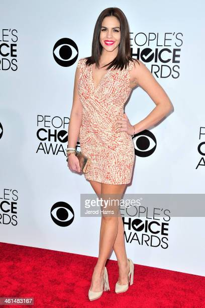Television personality Katie Maloney arrives at the 40th Annual People's Choice Awards at Nokia Theatre LA Live on January 8 2014 in Los Angeles...