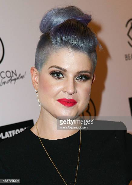 Television personality Kelly Osbourne attends the 3rd Annual BeautyCon Summit presented by ELLE Magazine on August 16 2014 in Los Angeles California