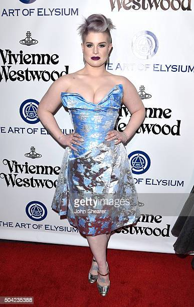 Television personality Kelly Osbourne attends The Art of Elysium 2016 HEAVEN Gala presented by Vivienne Westwood Andreas Kronthaler at 3LABS on...