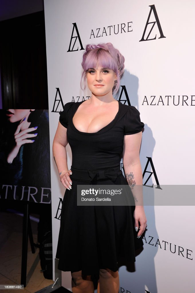 Television personality <a gi-track='captionPersonalityLinkClicked' href=/galleries/search?phrase=Kelly+Osbourne&family=editorial&specificpeople=156416 ng-click='$event.stopPropagation()'>Kelly Osbourne</a> attends The Black Diamond Affair with A Z A T U R E at Sunset Tower on October 8, 2013 in West Hollywood, California.