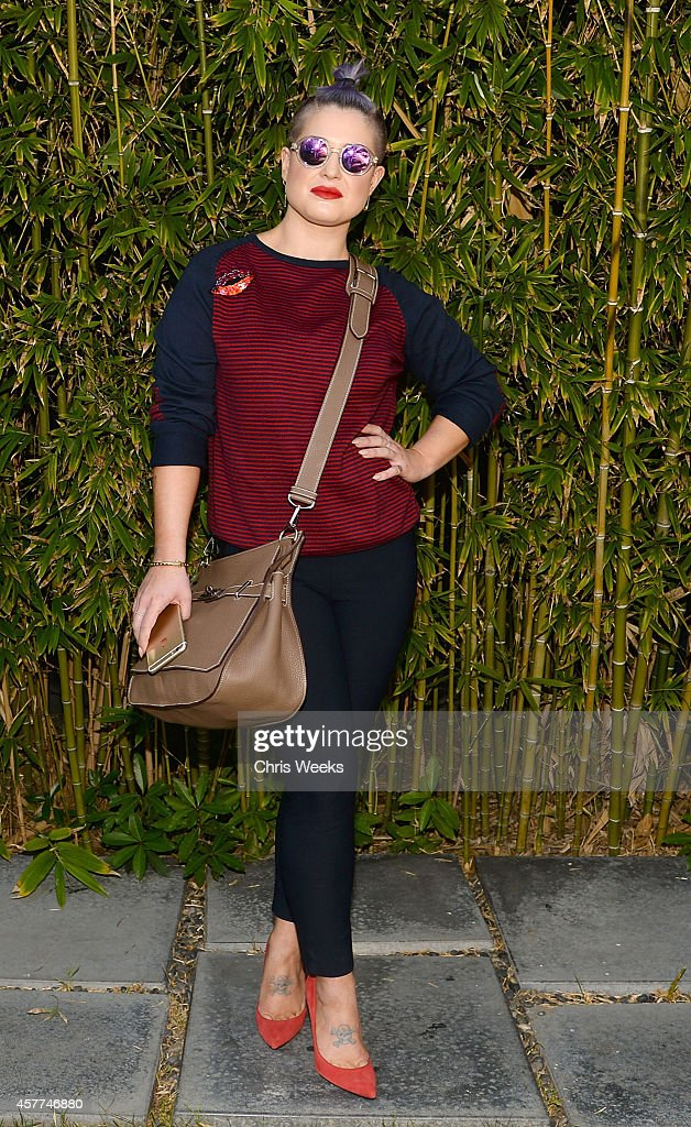 Television personality Kelly Osbourne attends the GANT Rugger SS 15 Collection presentation at Chateau Marmont on October 23 2014 in Los Angeles...