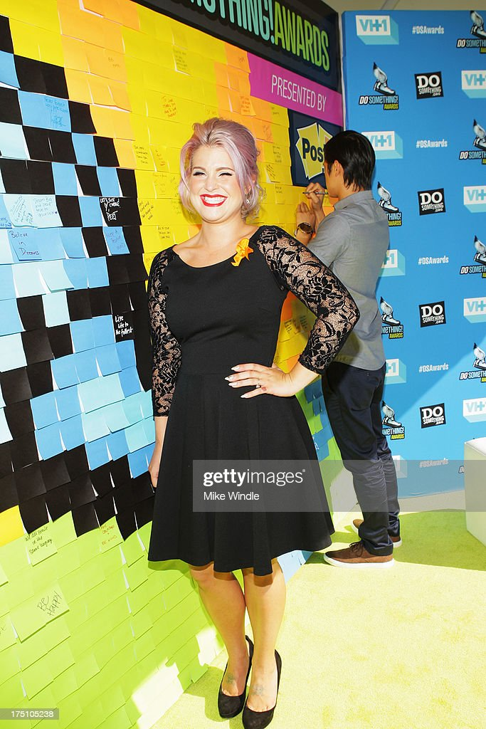 Television personality Kelly Osbourne launches Post-it Brand Dreams for Good Contest at the DoSomething.org and VH1's 2013 Do Something Awards at Avalon on July 31, 2013 in Hollywood, California.