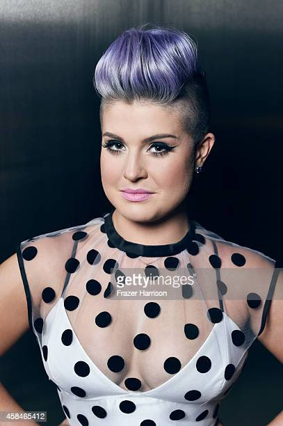 Television personality Kelly Osbourne poses for a portrait at the amfAR LA Inspiration Gala on October 29 2014 in Los Angeles California