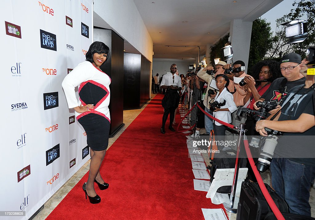 Television personality Kelly Price attends the 'R&B Divas LA' premiere event at The London on July 9, 2013 in West Hollywood, California.