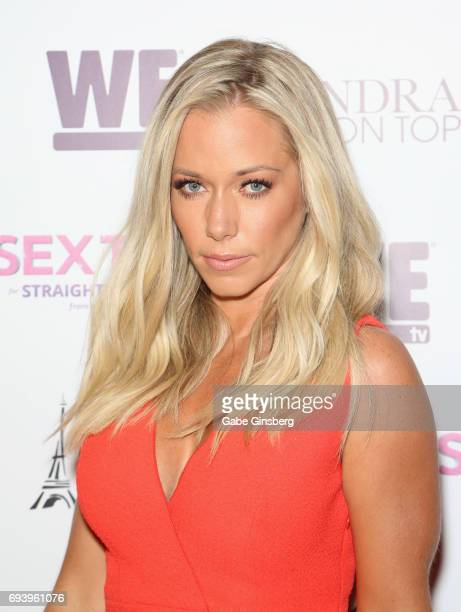 Television personality Kendra Wilkinson attends the premiere of her show 'Sex Tips for Straight Women from a Gay Man' at the Paris Las Vegas on June...