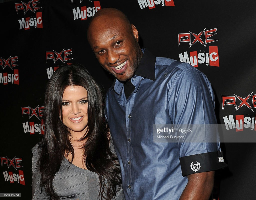 Television personality <a gi-track='captionPersonalityLinkClicked' href=/galleries/search?phrase=Khloe+Kardashian&family=editorial&specificpeople=3955023 ng-click='$event.stopPropagation()'>Khloe Kardashian</a> (L) and Los Angeles Laker <a gi-track='captionPersonalityLinkClicked' href=/galleries/search?phrase=Lamar+Odom&family=editorial&specificpeople=201519 ng-click='$event.stopPropagation()'>Lamar Odom</a> attend the 'AXE Music One Night Only' concert series featuring Weezer at Dunes Inn Motel - Sunset on September 21, 2010 in Hollywood, California.