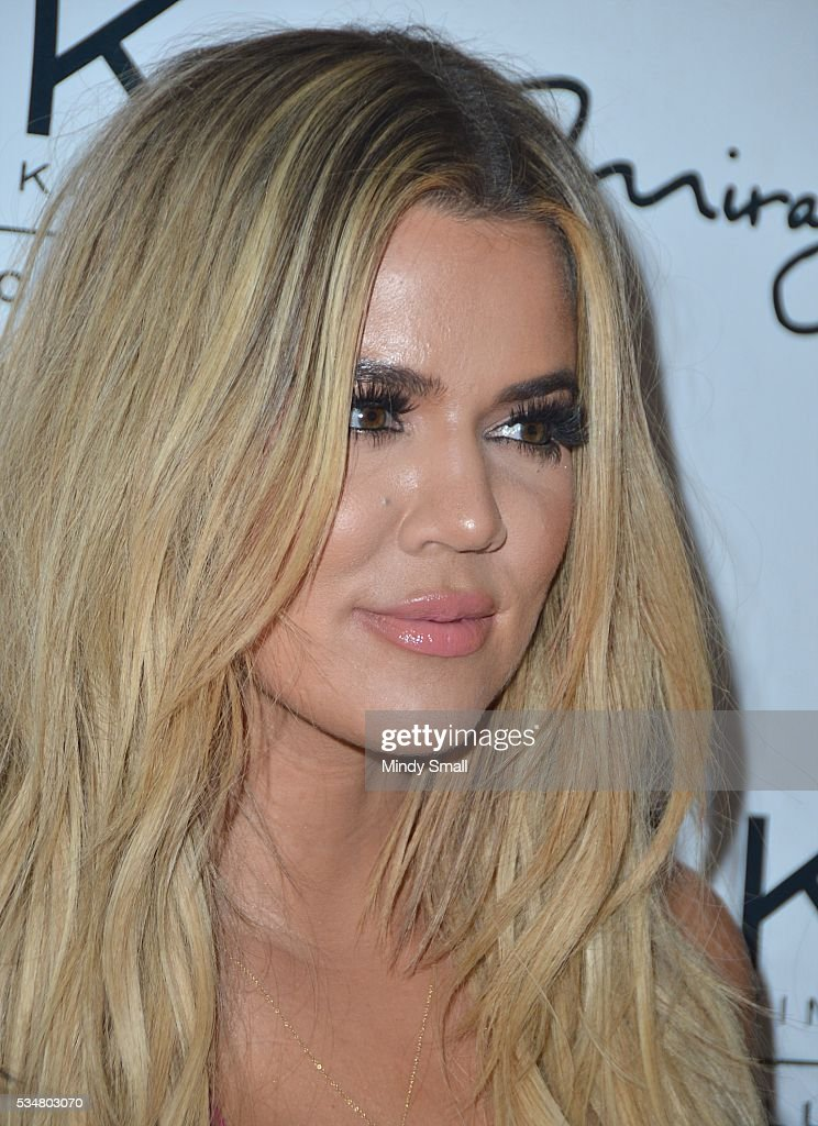 Television personality <a gi-track='captionPersonalityLinkClicked' href=/galleries/search?phrase=Khloe+Kardashian&family=editorial&specificpeople=3955023 ng-click='$event.stopPropagation()'>Khloe Kardashian</a> arrives at 1 OAK Nightclub at The Mirage Hotel & Casino on May 28, 2016 in Las Vegas, Nevada.