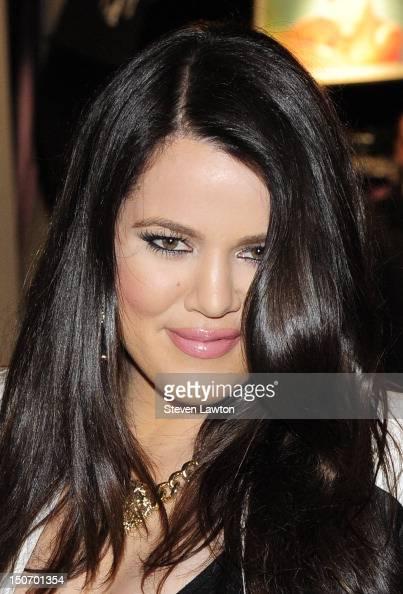 Television personality Khloe Kardashian Odom arrives at Kardashian Khaos inside The Mirage Hotel Casino on August 24 2012 in Las Vegas Nevada