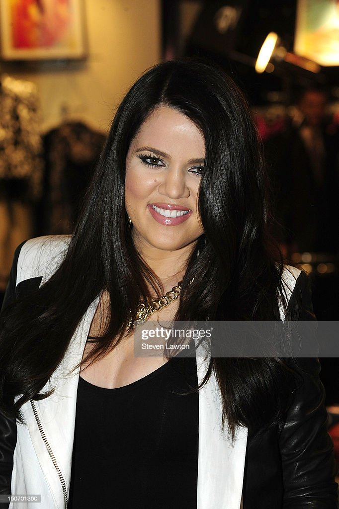 Television personality <a gi-track='captionPersonalityLinkClicked' href=/galleries/search?phrase=Khloe+Kardashian&family=editorial&specificpeople=3955023 ng-click='$event.stopPropagation()'>Khloe Kardashian</a> Odom arrives at Kardashian Khaos inside The Mirage Hotel & Casino on August 24, 2012 in Las Vegas, Nevada.