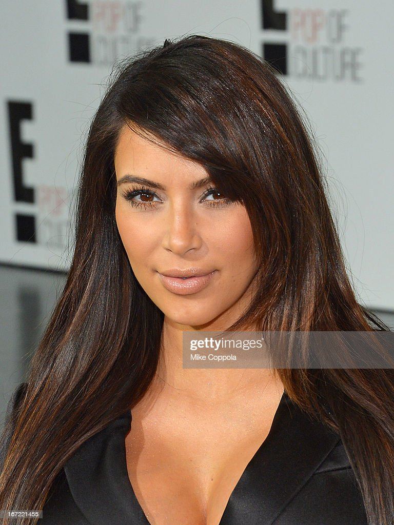 Television personality <a gi-track='captionPersonalityLinkClicked' href=/galleries/search?phrase=Kim+Kardashian&family=editorial&specificpeople=753387 ng-click='$event.stopPropagation()'>Kim Kardashian</a> attends the E! 2013 Upfront at The Grand Ballroom at Manhattan Center on April 22, 2013 in New York City.