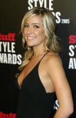 Television personality Kristin Cavalleri arrives at the Stuff Magazine Style Awards at the Roosevelt Hotel on September 7 2005 in Los Angeles...
