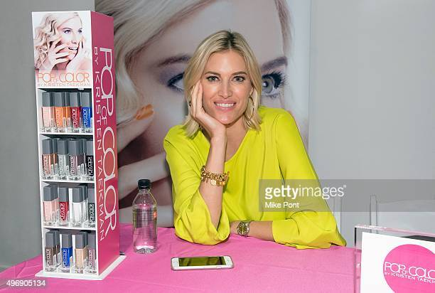 Television personality Kristin Taekman attends the 2015 Big City Moms Biggest Baby Shower at the Metropolitan Pavilion on November 12 2015 in New...