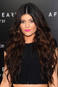 Television personality Kylie Jenner attends Columbia Pictures and MercedesBenz Present the US Red Carpet Premiere of AFTER EARTH at Ziegfeld Theatre...