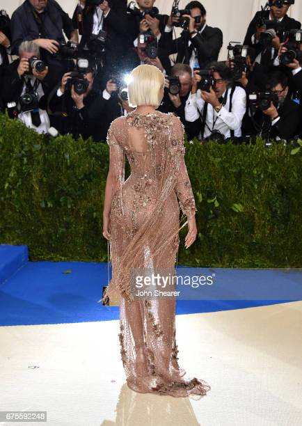 Television personality Kylie Jenner attends 'Rei Kawakubo/Comme des Garcons Art Of The InBetween' Costume Institute Gala at Metropolitan Museum of...
